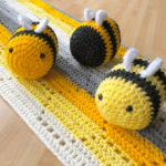 Crochet Bees - pattern copyright Seriously Hooked Up