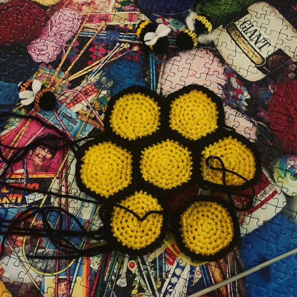Make a Beeline UK - Crochet Hexagons